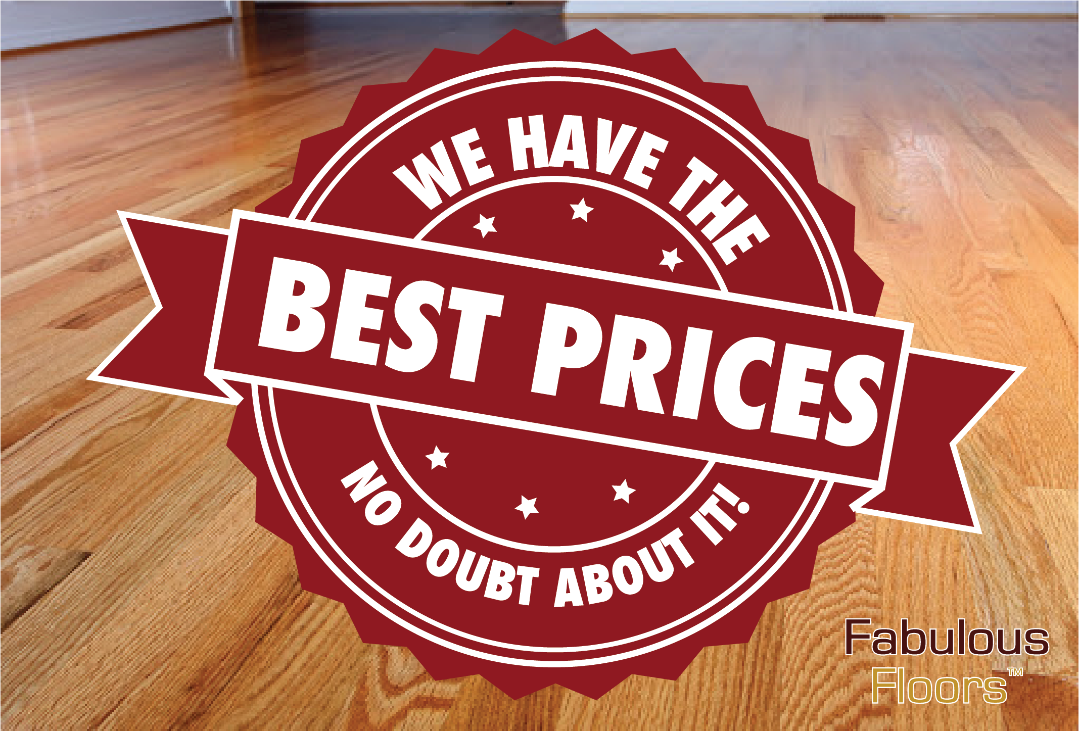 a graphic saying that we have the best prices around